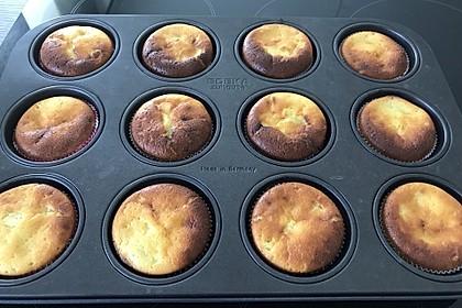 Käsekuchen-Muffins mit Schokoboden 2
