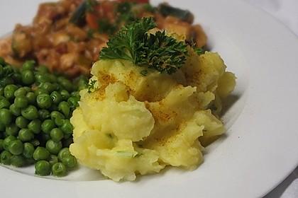 Kurkuma-Kartoffelpüree 1