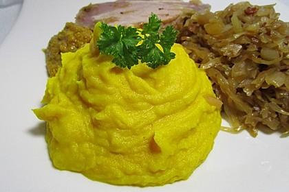 Kurkuma-Kartoffelpüree