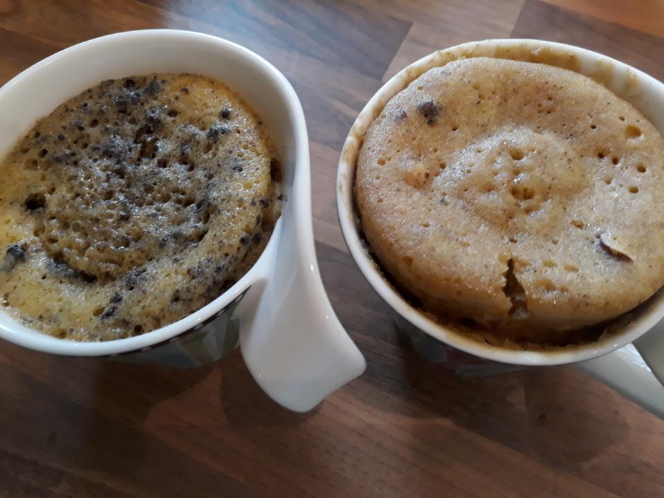 3 Tassenkuchen Varianten Oreo Nutella Red Velvet Von