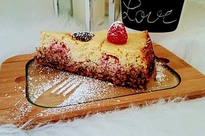 Low-Carb Lemon-Vanilla-Cheesecake