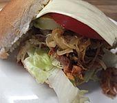 Pulled Chicken aus dem Bratschlauch (Bild)