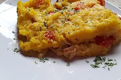 Polenta-Gemüse-Auflauf (Bild)