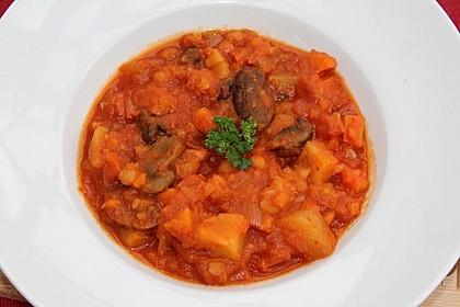 Herbstlicher Kürbis-Kartoffel-Eintopf