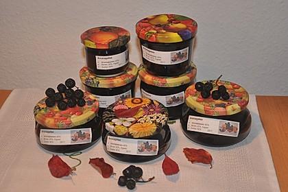 Aronia-Birnen-Marmelade mit Ingwer