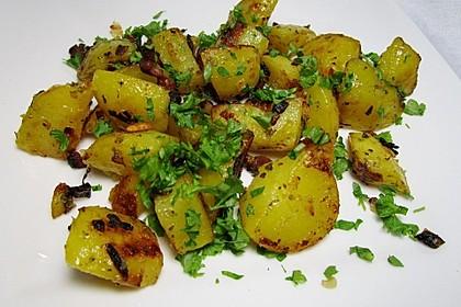Bratkartoffeln mit Majoran und Kümmel 1