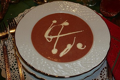 Rote Bete-Suppe 1
