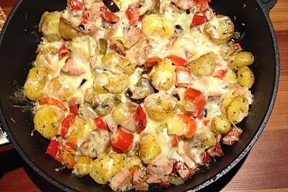 Kartoffel-Gemüse-Pfanne (Bild)