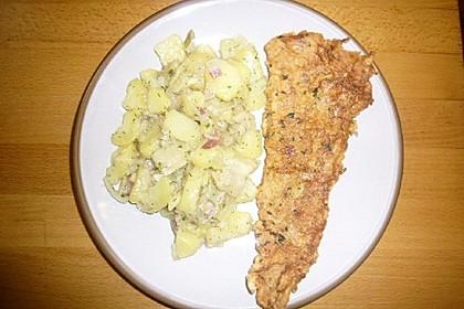 Wiener Kabeljaufilet mit Delikatess-Salat