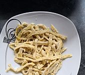 Mozzarellanudeln (Bild)