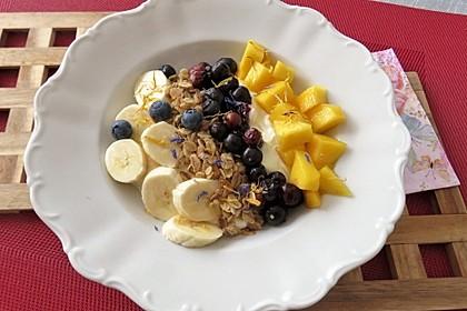 Frühstücksbowl mit Leinöl-Quark 1