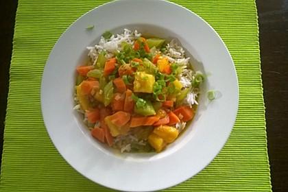 Karibisches Gemüse-Curry