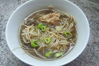 Julians chinesische Hühner-Nudel-Suppe 1
