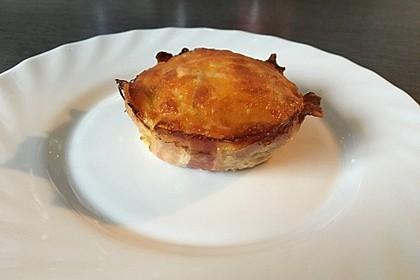 Blumenkohl-Spinat-Feta-Muffins