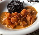 Süßkartoffel-Ragout mit Kokosmilch (Bild)