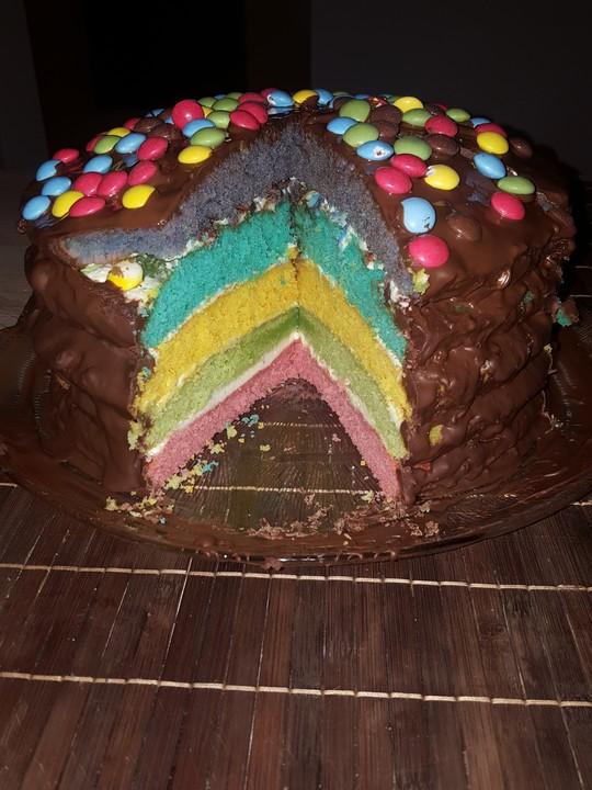 Regenbogen Kuchen Von Sina Marie155 Chefkoch De