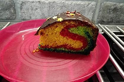 Regenbogen Kuchen 7