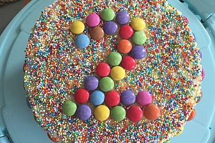 Regenbogen Kuchen 6