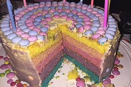 Regenbogen Kuchen 4