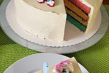 Regenbogen Kuchen 3