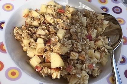 Lieblings-Frühstücks-Haferbrei