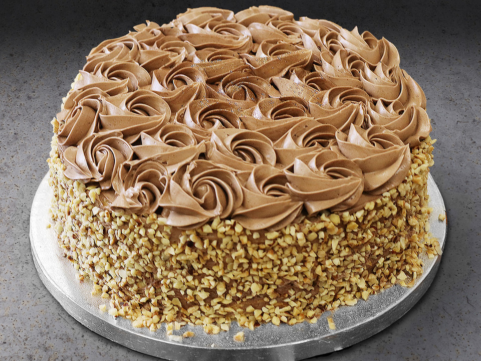 Low Carb Haselnuss Schokoladen Torte Von Soulfoodlowcarberia