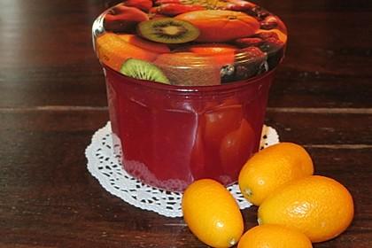 Kumquat-Granatapfelmarmelade