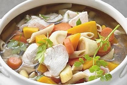 Pablos Hühner-Gemüse-Terrine