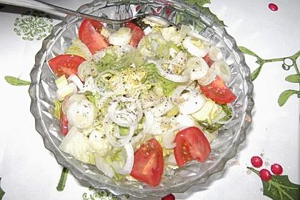 Schneller feuriger Salat 1