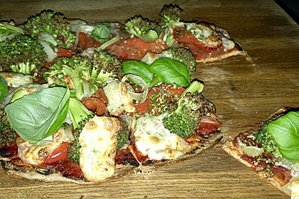 Low carb high protein Pizza 2