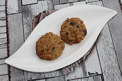 Haferflocken-Bananen-Cookies mit Schokotropfen
