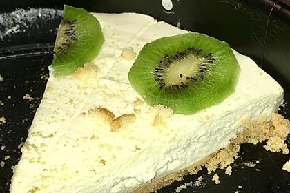 Frischkäse-Kiwi-Torte ohne Backen