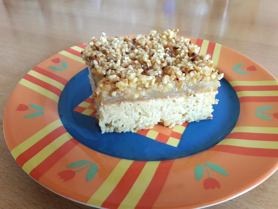 Fruchtig Leichter Friss Dich Dumm Kuchen Mit Apfelpudding Von