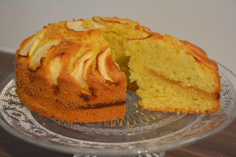 Apfel Marzipan Kuchen Von Frauleinzuckerbacker Chefkoch De