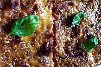 Barbecue Pizza (Bild)