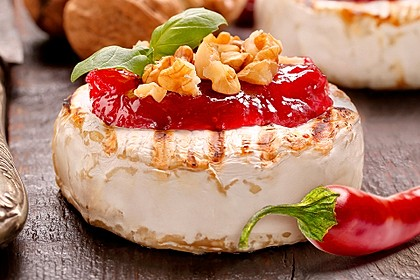 Erdbeer-Chili-Topping