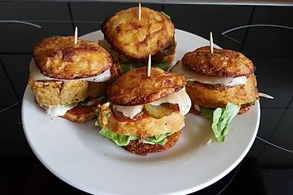 Tobis Potato Chicken Burger