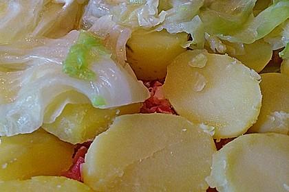 Kartoffel - Spitzkohl - Auflauf 2