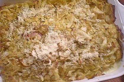 Kartoffel - Spitzkohl - Auflauf 8