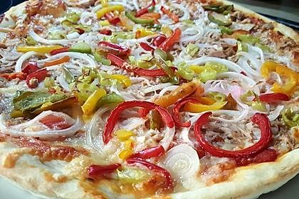 Pizza mit Thunfisch
