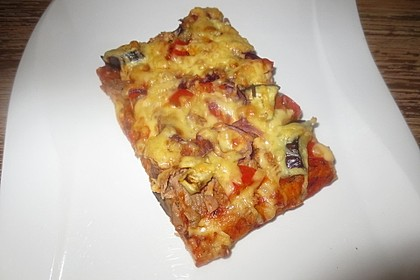 Pizza mit Thunfisch 5