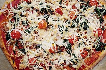 Pizza mit Thunfisch 15
