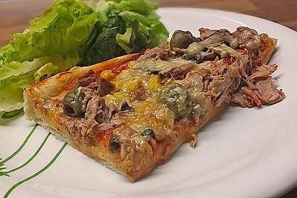 Pizza mit Thunfisch 10