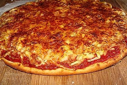 Pizza mit Thunfisch 6
