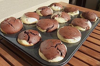 Donauwellen - Muffins 24