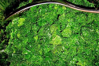Gebratener Lachs auf Grünkohl mit Zitronensenfsauce 11