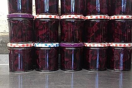 Rote Bete süß - sauer 6