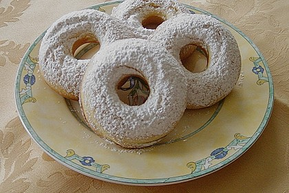 Donuts für die Blechform 15