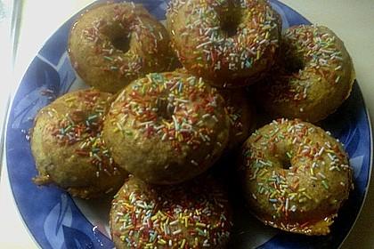 Donuts für die Blechform 18