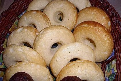 Donuts für die Blechform 20